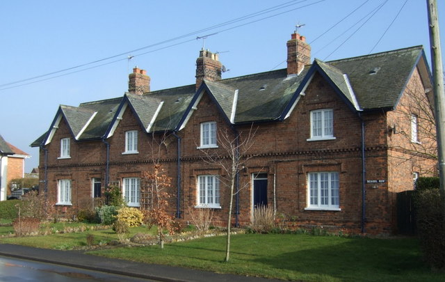 Cottages, School Row, Long Riston