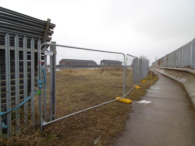 Trans Pennine Trail at Alexandra Dock, Hull