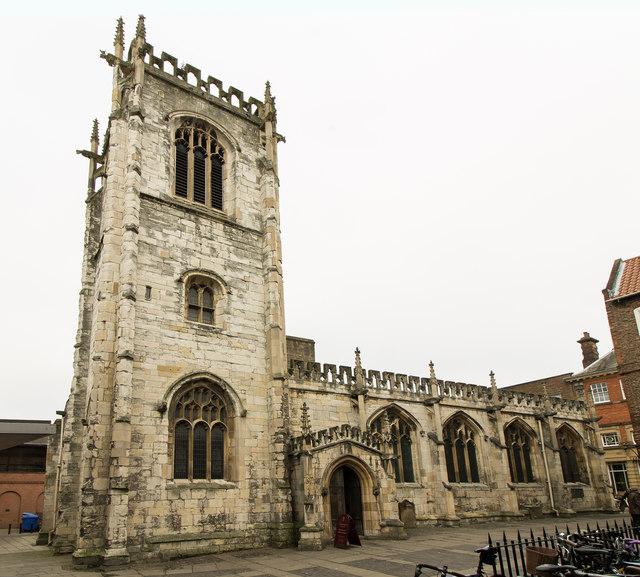 St Martin le Grand church, Coney Street, York