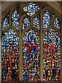 SE6051 : East window, St Martin le Grand church, York by Julian P Guffogg