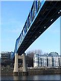 NZ2463 : The Queen Elizabeth II Metro Bridge by Mike Quinn
