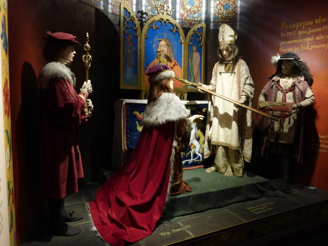 James IV tableau, Edinburgh Castle
