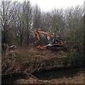 SK5034 : Environment Agency digger by David Lally