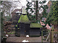 TQ7047 : Oast House duck house by Oast House Archive