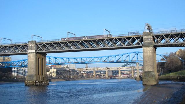 Bridges on the Tyne (No.149)