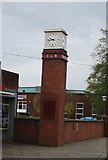SD8010 : Clock tower, East Lancashire Railway by N Chadwick