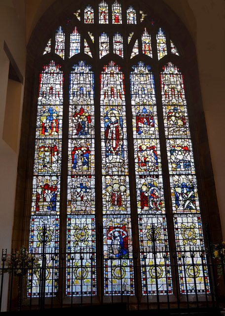 St Martin window, St Martin le Grande church, York