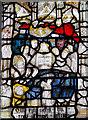 SE6051 : Detail, St Martin window (4e) St Martin le Grand church, York by J.Hannan-Briggs