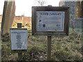 TL6964 : Wildlife sanctuary in Moulton church yard by Andy Parrett