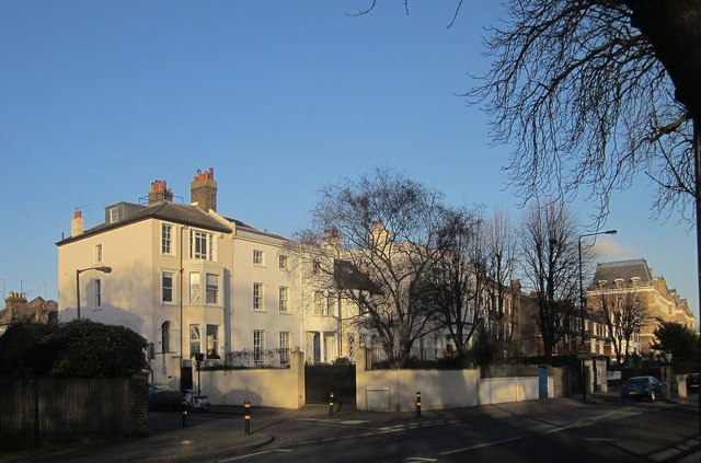 Houses on Clapham Common North Side