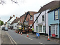 TL8522 : Changing the poles, Coggeshall by Robin Webster