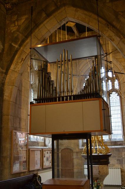 Organ, St Martin le Grand church, York