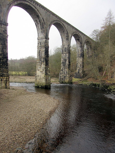 Lambley Viaduct from north side