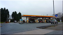 SD6807 : Beaumont Road Petrol Station by Richard Cooke