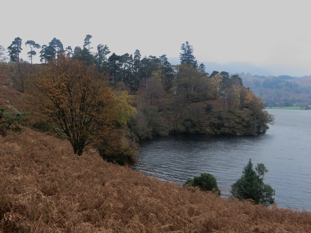 Bay on the eastern shore of Ullswater