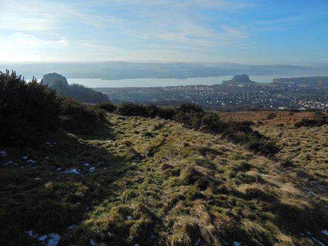 Dumbowie Hill: lower terrace
