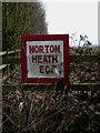 TL6003 : Norton Heath E C sign by Adrian Cable