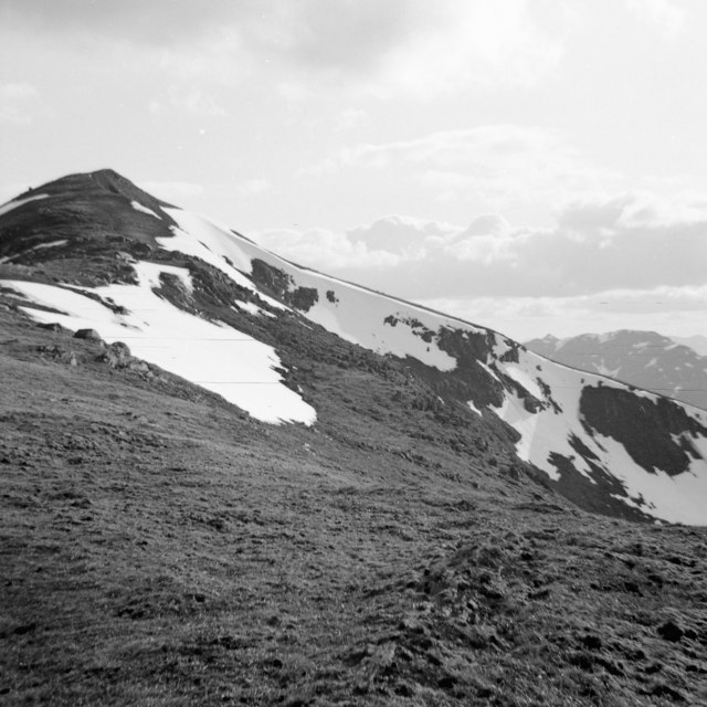 North flank of Beinn Ghlas