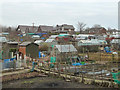 SD5907 : Allotments at New Springs, Wigan by Gary Rogers