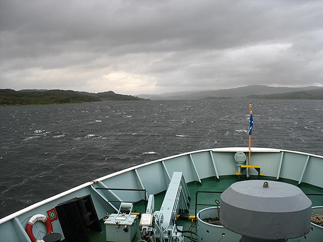 Approaching Kennacraig