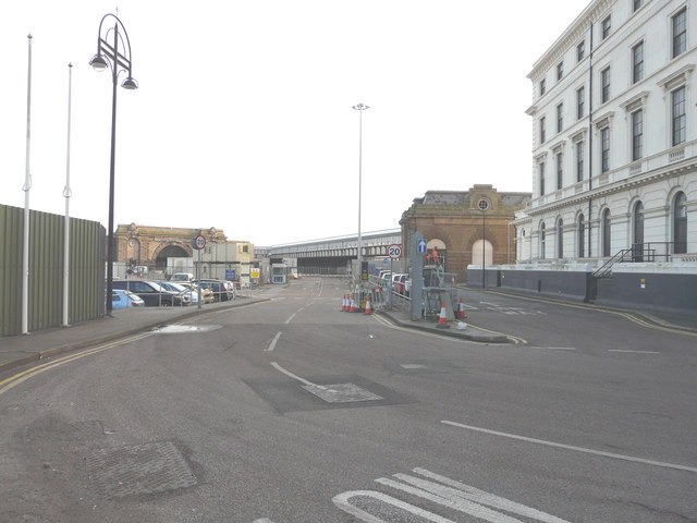 Changes at Cruise Terminal 1, Lord Warden Square