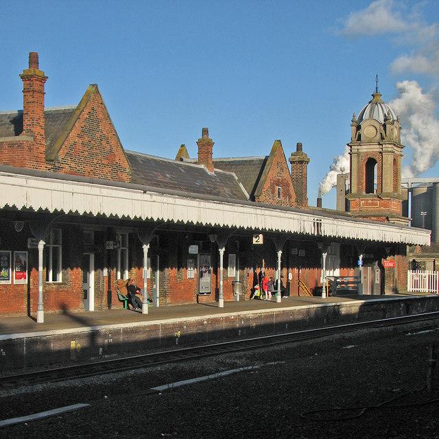 On Bury St Edmunds Station