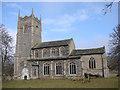 TF8200 : Hilborough All Saints church by Adrian S Pye