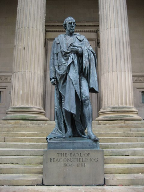 Statue of the Earl of Beaconsfield