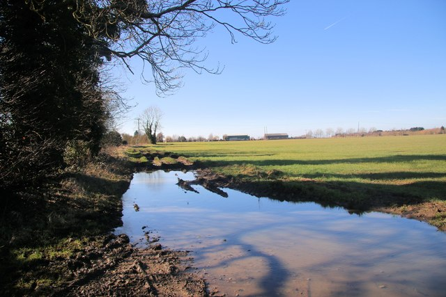 Docking's Lane flooded