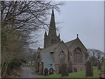 SD1779 : St George, Millom: mid-February 2015 by Basher Eyre