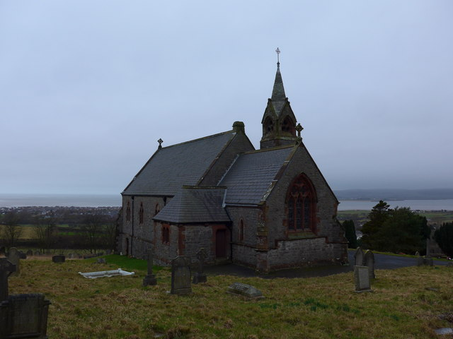 St Michael and All Angels, Ireleth: mid-February 2015