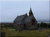 SD2277 : St Michael and All Angels, Ireleth: mid-February 2015 by Basher Eyre