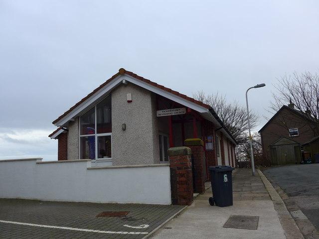 Vickerstown Methodist Church: mid-February 2015