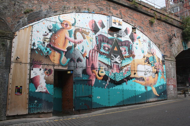 Underneath the arches, New Wakefield Street