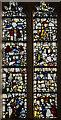 SE6051 : Detail, Stained glass window, s.V, St Michael's Spurriergate, York by Julian P Guffogg