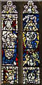 SE6051 : Detail, Stained glass window, sII, St Michael's Spurriergate, York by J.Hannan-Briggs