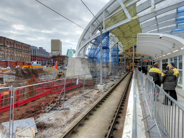 Manchester Victoria Station Upgrading (February 2015)