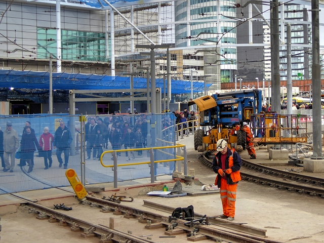 Manchester Victoria Building Work (February 2015)