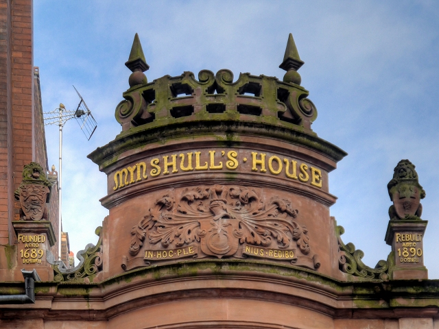Mynshull's House, Upstand and Finials