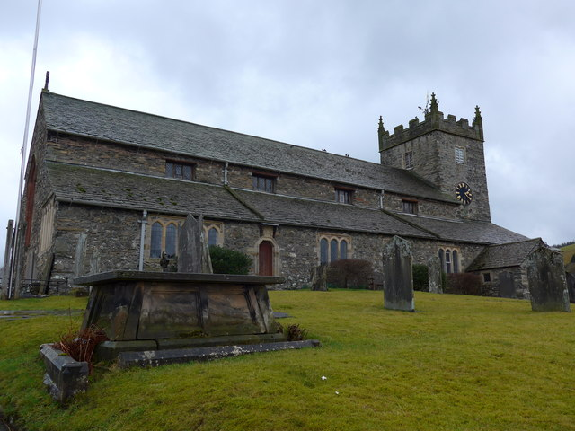 St Michael  & All Angels, Hawkshead: mid-February 2015