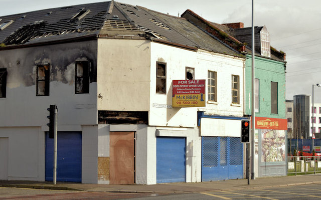 Nos 374-378 Newtownards Road, Belfast (February 2015)
