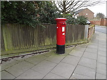 TM1745 : Post Mill Close Postbox by Adrian Cable