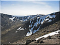 NN9599 : Summit area, Braeriach by William Starkey