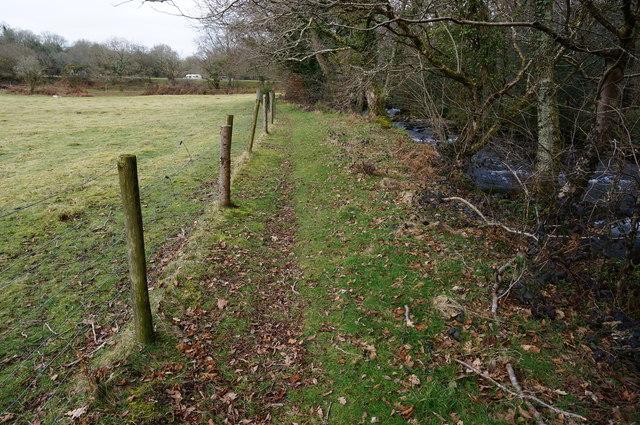 Permissive Path to Shaugh Bridge