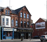 J3472 : The Rose and Crown, Lower Ormeau Road by Eric Jones