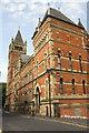 SJ8497 : Crown Court, Minshull Street by Roger Templeman
