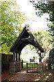 SP3725 : St Kenelm's Church lychgate by Roger Templeman