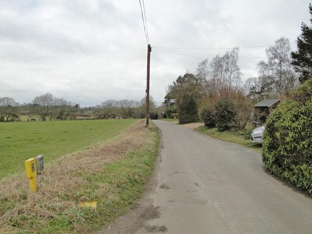 Pitt's Lane Saxlingham