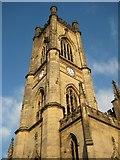 SJ3589 : Tower of St Luke's church by Philip Halling