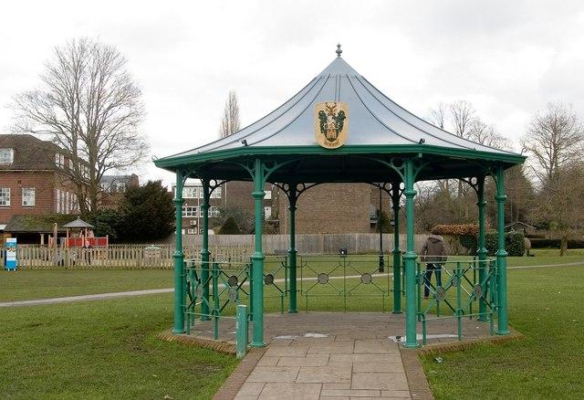 Bandstand, Gostrey Meadow